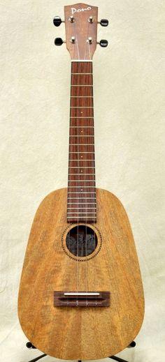 Pono Concert scale Mango wood Pineapple Ukulele --- https://www.pinterest.com/lardyfatboy/