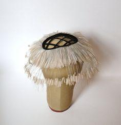 Vintage Fascinator / Half Hat Calot: 1950s Hat - Miss Alice, Lord and Taylor. $125.00, via Etsy.