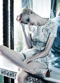Rhapsody in Blue | Ehren Dorsey | Andrea Carter Bowman #photography | SCMP Style Magazine