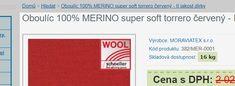 Oboulíc 100% MERINO super soft torrero červený - II.jakost dírky - 1 573Kč - Metráž | Úplety - MORAVIATEX pletárna s.r.o. - Kvalitní ČESKÉ úplety