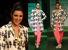 Parineeti Chopra In Masaba Gupta Collection at Lakme Fashion Week (LFW) Summer Resort 2013-02
