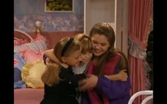 """And even when the world feels like it's ending, your girlfriends and sisters are these amazing, cool people you have in your life. And that, in turn, makes you a pretty cool girl.   16 Things You Learned About Being A Woman From """"Full House"""""""