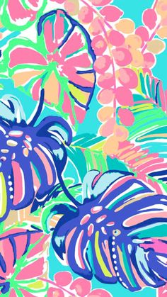love my Lilly Pulitzer! Did you know in every Lilly Pulitzer design her name is secretly hidden somewhere in the design? Lilly Pulitzer Iphone Wallpaper, Wallpaper Iphone Cute, Cute Wallpapers, Wallpaper Backgrounds, Wallpaper Quotes, Lilly Pulitzer Patterns, Lilly Pulitzer Prints, Jungle Pattern, Tropical Flowers