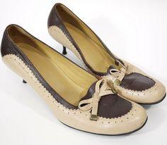 166da2ac740 Tods Womens Shoes Size-39 Uk-6 Leather kitten Heels Court Kitten Heels