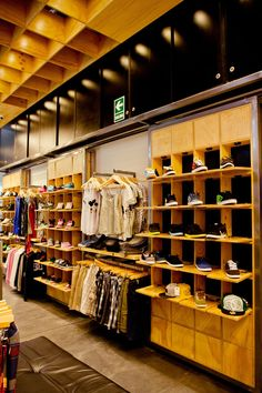Retail shop as closet inspiration.