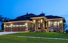 Amazing Prairie Style Home Plan - 81636AB | Architectural Designs - House Plans