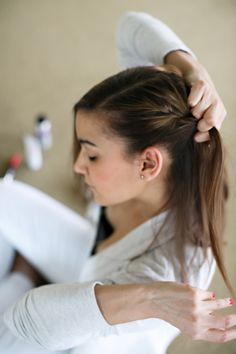 simple post-workout hairstyle  #theeverygirl
