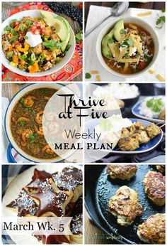 Say good-by to the dinnertime dilemma!  Fee Weekly Meal Plans! | Meal plan | Easy Weeknight Meal | Dinner Recipes |