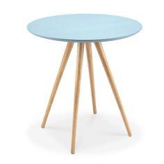 simples estilo nórdico hima bentwood mesa lateral pequeno café mesa redonda mesa de canto tabela pernas de madeira maciça