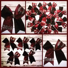 Hairbows by Funkykandoo for the Owen High School Dance Team. Let us create the perfect hairbow for your team! Check out all of our items at Funkykandoo on Facebook and Instagram.