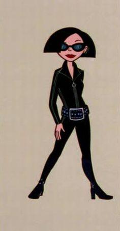 Jane as Emma Peel
