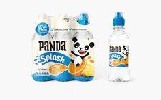 Panda Soft Drinks by Robot Food, via Behance