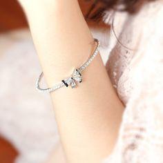 Look at My Bow Bracelet - Silver Bow Bracelet, Look At Me, Silver Bracelets, Bows, Jewelry, Silver Cuff Bracelets, Arches, Jewlery, Jewerly