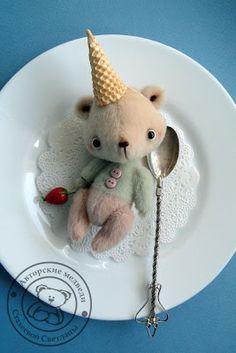 SVETLANA STAKHEEVA  | bear plush #softie #doll #toy