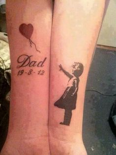 Tattoo for a passing father