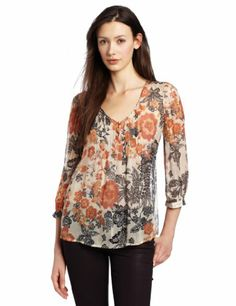 Lucky Brand Women's Talitha Floral Blouse