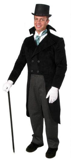Deluxe Adult Dickens Gentleman Victorian Costume - Candy Apple Costumes - Deluxe Costumes