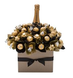 Luxury Chandon Bloom boasts bubbles, Belgian chocolate and a bunch of Ferrero and Lindt to boot for $135.00