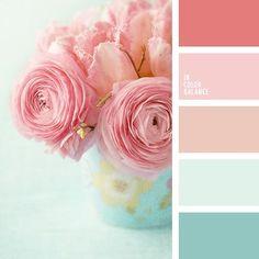 Shabby chic colors palette bedroom ideas for 2019 Colour Pallette, Colour Schemes, Color Combos, Summer Colour Palette, Best Color Combinations, Beach Color Palettes, Shabby Chic Colors, Rustic Colors, Rustic Flowers