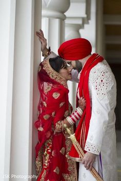 Indian bride and groom photography Indian Wedding Couple Photography, Indian Wedding Photos, Bridal Photography, Indian Bridal, Indian Weddings, Romantic Weddings, Sikh Wedding, Punjabi Wedding, Wedding Shoot