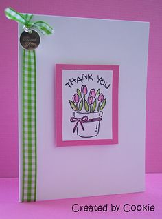 """Cards by Cookie using Stampin' Up!'s """"Nice and Easy Notes"""""""