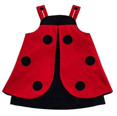 Florence Eiseman Baby / Toddler Girls Red / Navy Blue Corduroy Novelty Ladybug Dress Source by cindy Baby Girl Fashion, Kids Fashion, Ladybug Costume, Baby Dress Patterns, Kids Frocks, Toddler Dress, Toddler Girls, Little Girl Dresses, Baby Sewing