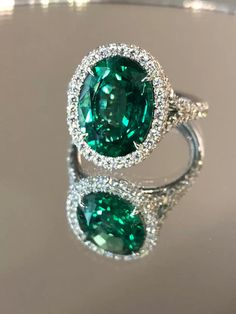 18K White Gold Plated Square Green Stone Hoop Earrings Women Girls Created Emerald Party Jewelry