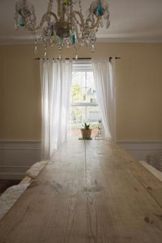 Tabbed curtains - how far apart to make them