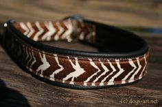 Hey, I found this really awesome Etsy listing at https://www.etsy.com/listing/183827098/dogs-art-zebra-martingale-leather-collar