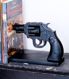 gun book-end