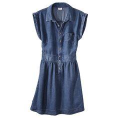 Merona® Women's Chambray Shirt Dress $24.48 on sale
