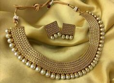 Details about Indian Bollywood New Necklace Set Ethnic Gold Pated Traditional Necklace Set - Picture 2 of 2 - Stylish Jewelry, Modern Jewelry, Fashion Jewelry, Indian Jewelry Sets, Indian Wedding Jewelry, Pakistani Jewelry, Bridal Earrings, Bridal Jewelry, Women's Jewelry