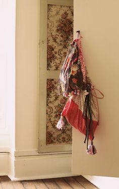 Pinterest colors? #fabric #pink #bag #drawstring