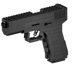 A LEGO Handgun
