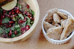 Amarant met koriander en granaatappelpitjes