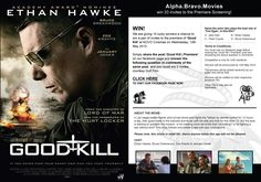 We are giving 10 lucky winners a chance to win a pair of invites to the premiere of 'Good Kill' at NOVO Cinemas on Wednesday, 13th May 2015. Simply share the post 'Good Kill | Premiere' on our facebook page and answer the following question in comments of the same post, and you could win 2 invites, courtesy of Gulf Film.