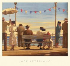 Jack Vettriano the Pier painting is available for sale; this Jack Vettriano the Pier art Painting is at a discount of off. Jack Vettriano, Edward Hopper, The Singing Butler, Framed Art Prints, Poster Prints, Art Gallery, Fine Art, Wall Art, Paintings