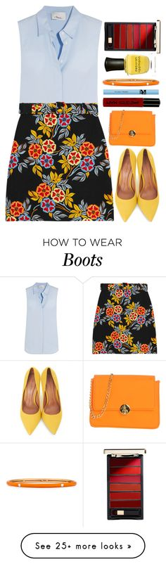 """""""Untitled #636"""" by ssm1562 on Polyvore featuring 3.1 Phillip Lim, MSGM, Moda In Pelle, Camomilla, NYX, L'Oréal Paris, Adolfo Courrier and Deborah Lippmann"""