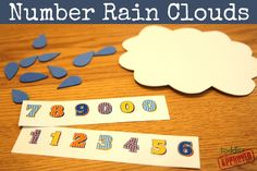 Rain Drop Math from Toddler Approved
