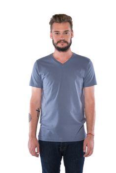 camiseta Basic V blue
