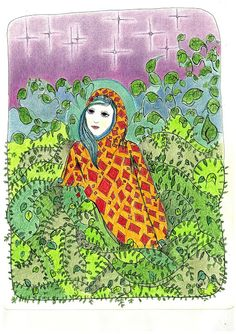 lacaritosuarez:   Mi religión es la hierbaEl abrigo de un verde te...