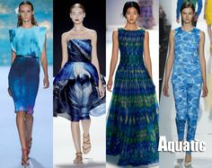 Spring 2013 New York Fashion Week Trends: Aquatic