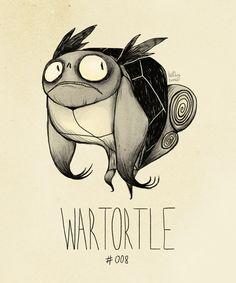 Wartortle - Pokemon Fan Art