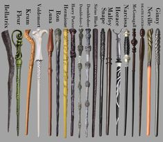 Harry Potter Replica Wands - Cosplay Quality - Free Shipping!
