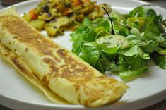 This savory and subtly sweet polish crepe (nalesniki) is a wonderful weekend brunch dish. Serve with potato salad, a simple green salad, and deviled eggs for a simple Polish Easter brunch. Authentic Mexican Recipes, Ukrainian Recipes, Hungarian Recipes, Lithuanian Recipes, Slovak Recipes, Hungarian Food, Czech Recipes, Greek Recipes, Mexican Food Recipes