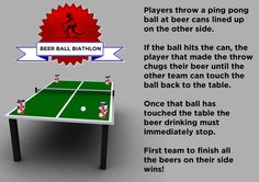 The Ultimate Olympics Drinking Games