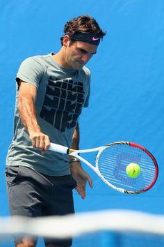 Roger Federer @JugamosTenis #tennis