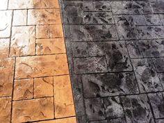 Combinación de texturas piedra Covadonga con ankare zaline corcho y ankare zaline azabache envejecida