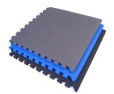 "Exervo HD20 3/4"" Thick Premium EVA Foam Interlocking Floor Mats (bestseller)"