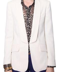 Look 2: Shawl Collar Blazer / F21 $29.80